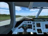 Ту 204-100В Ред Вингс, вылет и разворот обратно в Мурманск 25.04.2014